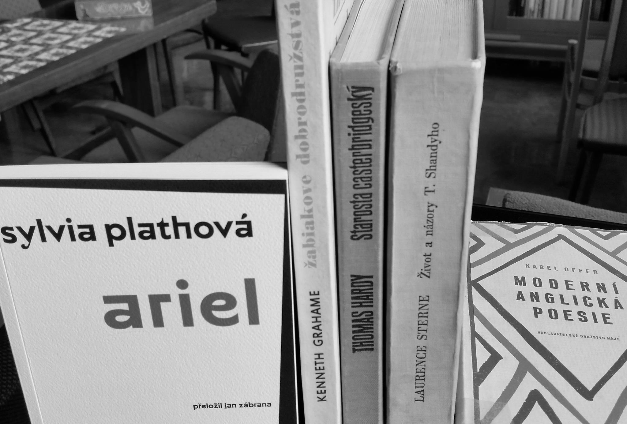 kabinet pomalosti zabudnuté knihy
