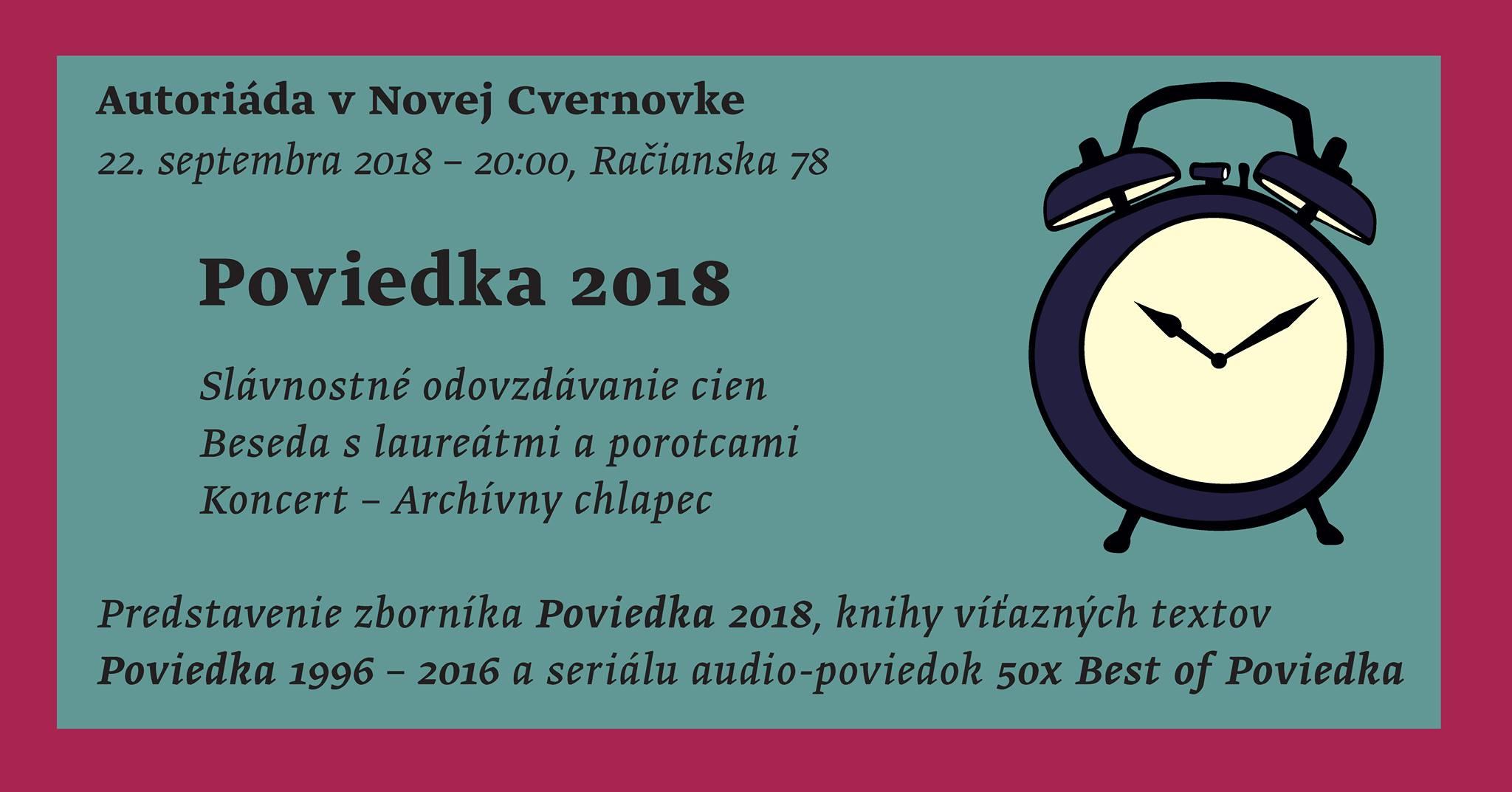 poviedka 2018 cvernovka