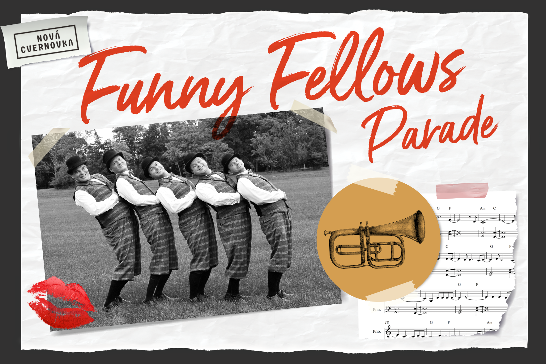 Funny Fellows cvernovka